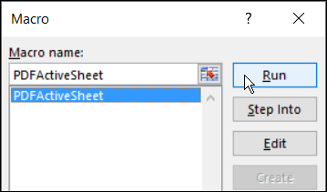 Excel macro to save sheets as pdf run an excel macro ibookread PDF