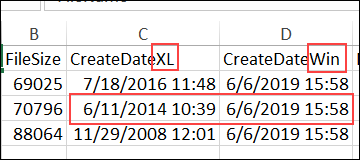 old items in pivot table drop down