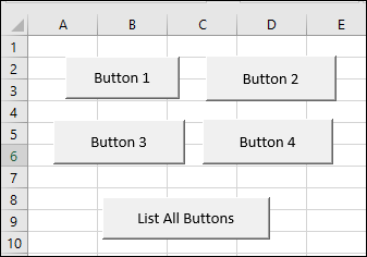 Macros for Excel Form Control Buttons