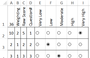 Excel survey template with option buttons survey form with option buttons pronofoot35fo Image collections